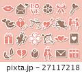 バレンタイン アイコン バレンタインデーのイラスト 27117218