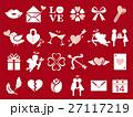 バレンタイン アイコン バレンタインデーのイラスト 27117219