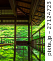 瑠璃光院 青もみじ 新緑の写真 27124723