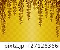 藤の花 藤 金色のイラスト 27128366