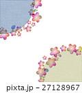 和風 背景 花のイラスト 27128967