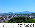 米子市の街並み_米子城天守閣跡からの眺め 27130204
