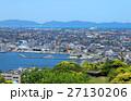 米子市の街並み_米子城天守閣跡からの眺め 27130206