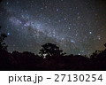 秋 星空 天の川の写真 27130254