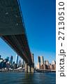 ニューヨーク ブルックリン 橋の写真 27130510