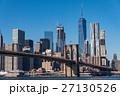 ニューヨーク ブルックリン 橋の写真 27130526
