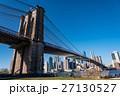 ニューヨーク ブルックリン 橋の写真 27130527