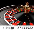 Casino gold roulette close up 27133582
