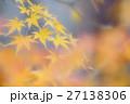 西大寺増長院雨上がりの紅葉の趣き 27138306
