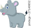 Cute rhino cartoon 27140652