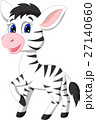 Cute zebra cartoon 27140660