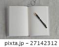 白いノートとぺん 27142312