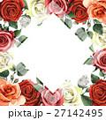 水彩画 花柄 芽のイラスト 27142495