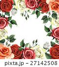 水彩画 花柄 芽のイラスト 27142508