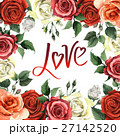 花柄 芽 蕾のイラスト 27142520