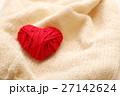 毛糸のハート 27142624
