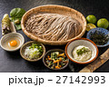 うちたて蕎麦 soba set that Japanese noodles 27142993