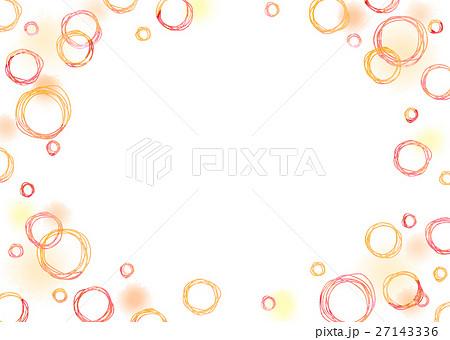 水彩 手描き丸と水玉 (透過) 27143336