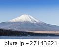 山中湖 富士山 けあらし 27143621