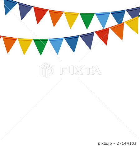 Indian Independence Day Background with Flagsのイラスト素材 [27144103] - PIXTA