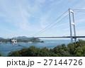 しまなみ海道 来島海峡 海の写真 27144726