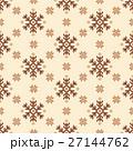 ノルディック柄 雪 模様編みのイラスト 27144762