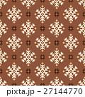 ノルディック柄 雪 模様編みのイラスト 27144770
