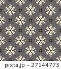 ノルディック柄 雪 模様編みのイラスト 27144773