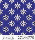 ノルディック柄 雪 模様編みのイラスト 27144775