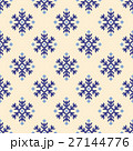 ノルディック柄 雪 模様編みのイラスト 27144776