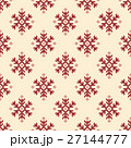 ノルディック柄 雪 模様編みのイラスト 27144777