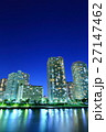 夜景 都心 ベイエリアの写真 27147462
