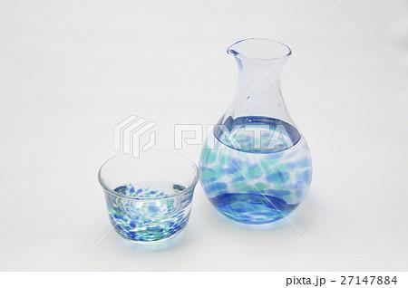 ガラスの徳利と御猪口の写真素材 [27147884] - PIXTA