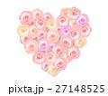 薔薇 花 フラワーアートのイラスト 27148525