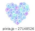 薔薇 花 フラワーアートのイラスト 27148526