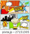 レトロ コミック 漫画のイラスト 27151305