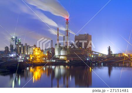 富山_氷見の工場夜景 27151481