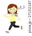 ランニング 音楽 人物のイラスト 27152187