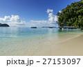 ロック・アイランドのサンゴ礁の海 27153097