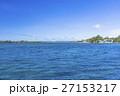 コロールのサンゴ礁の海とレストラン 27153217