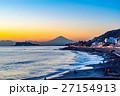 海 海岸 富士山の写真 27154913