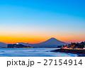 海 海岸 富士山の写真 27154914