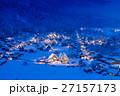 岐阜_白川郷雪のライトアップ 27157173