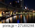 夜景 高速道路 街並みの写真 27160298