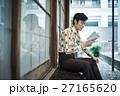 昭和 男性 縁側の写真 27165620
