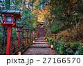 京都 貴船神社の紅葉  27166570