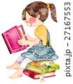 水彩画 人物 女の子のイラスト 27167553