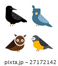 Birds vector set illustration isolated 27172142