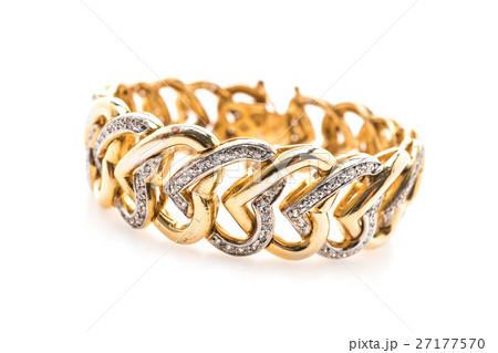 Gold braceletの写真素材 [27177570] - PIXTA