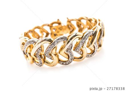 Gold braceletの写真素材 [27178338] - PIXTA